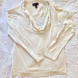 Nice off white, light weight dressy sweater.